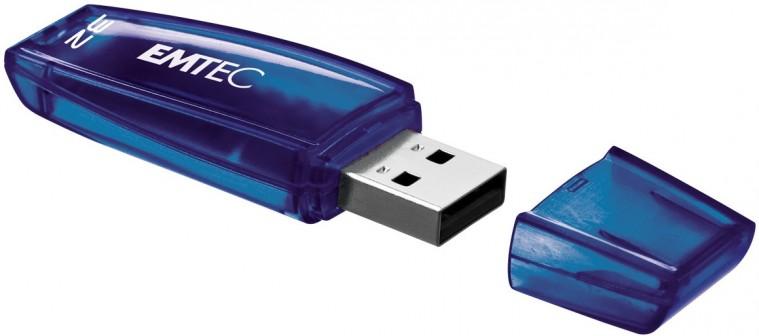 USB 2.0 flash disky Emtec C400 32GB modrý