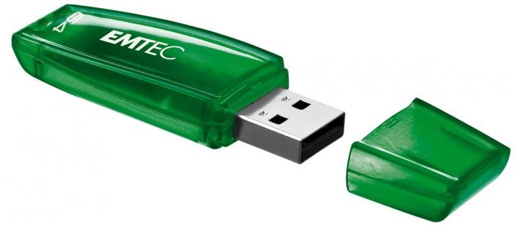 USB 2.0 flash disky Emtec C400 64GB zelený