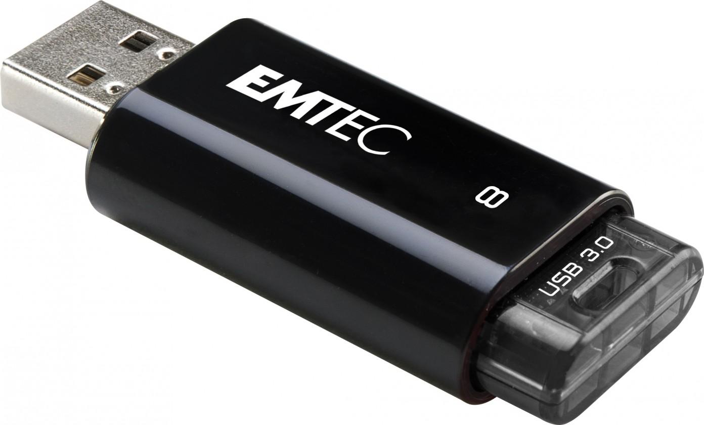 USB 2.0 flash disky Emtec C650 8GB černý