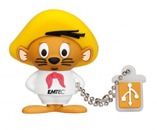 USB 2.0 flash disky Emtec LT Speedy L102 4GB žlutý-bílý