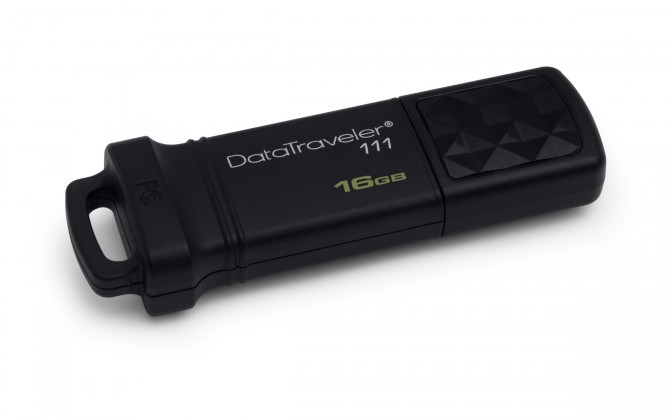 USB 2.0 flash disky Kingston DataTraveler 111 16GB černý