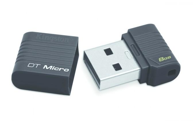 USB 2.0 flash disky Kingston DataTraveler Micro 8GB