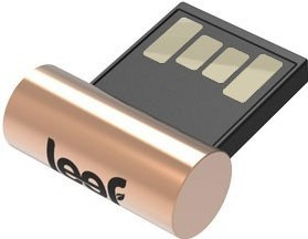 USB 2.0 flash disky Leef USB 16GB Surge Copper 2.0 black