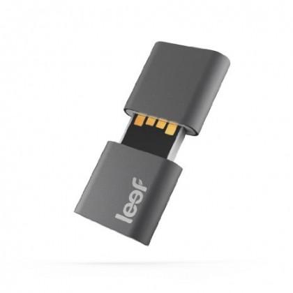 USB 2.0 flash disky Leef USB 32GB Fuse 2.0 charcoal white