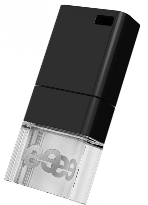 USB 2.0 flash disky Leef USB 32GB Ice 2.0 black-white
