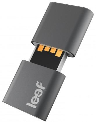 USB 2.0 flash disky Leef USB 64GB Fuse 2.0 charcoal white