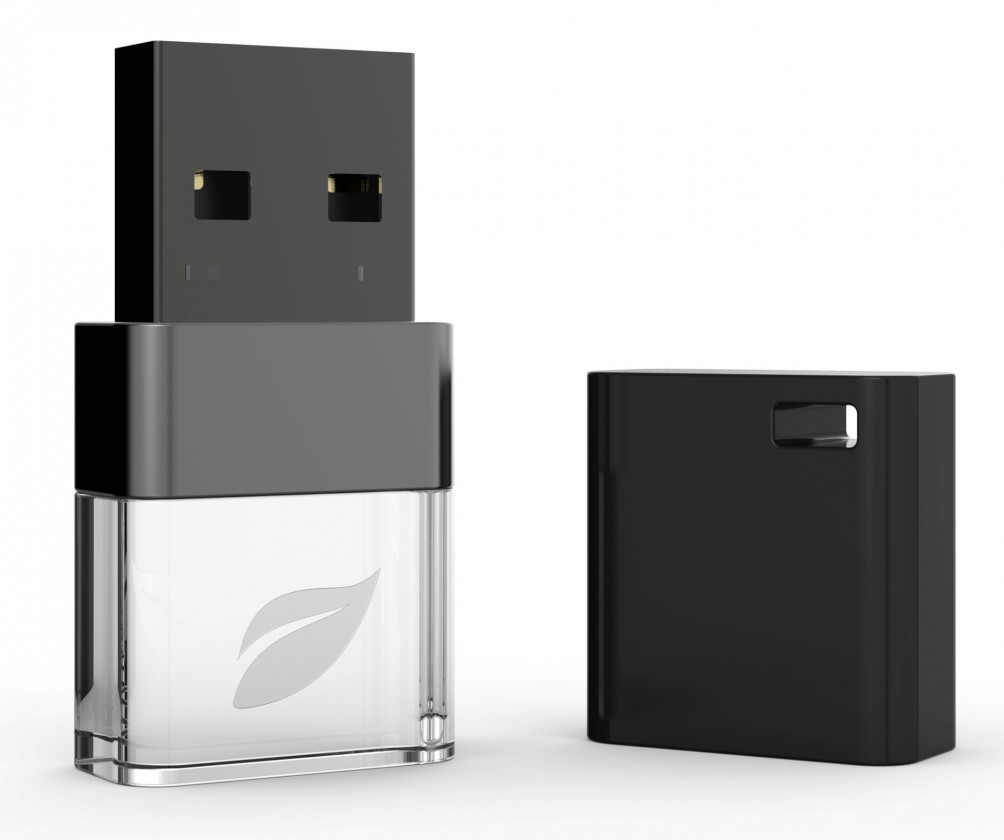 USB 2.0 flash disky Leef USB 8GB Ice 2.0 black-white