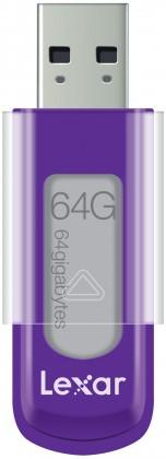 USB 2.0 flash disky Lexar JumpDrive S50 64GB fialový ROZBALENO