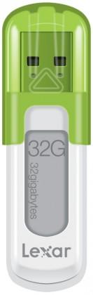 USB 2.0 flash disky Lexar JumpDrive V10 32GB bílý