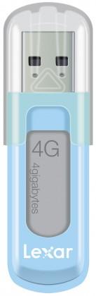 USB 2.0 flash disky Lexar JumpDrive V10 4GB modrý