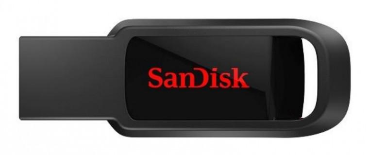 USB 2.0 flash disky SanDisk Flash Disk 128GB USB 2.0 Cruzer Spark