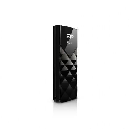 USB 2.0 flash disky Silicon Power Ultima U03 8GB černý