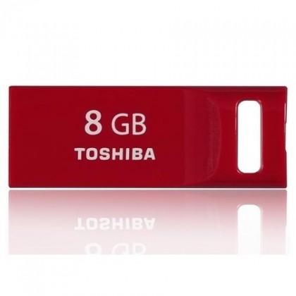 USB 2.0 flash disky Toshiba TransMemory-Mini 8GB červený