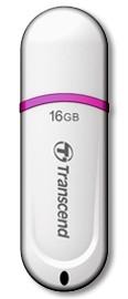 USB 2.0 flash disky Transcend JetFlash 330 16GB bílý