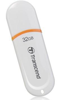 USB 2.0 flash disky Transcend JetFlash 330 32GB bílý