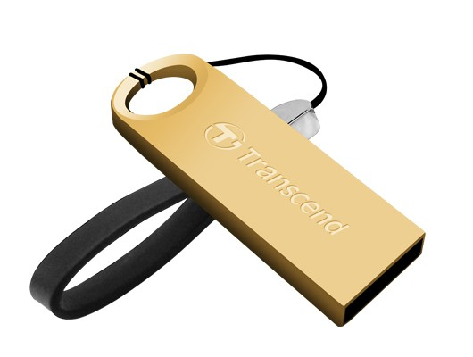 USB 2.0 flash disky Transcend JetFlash 520G 8GB zlatý