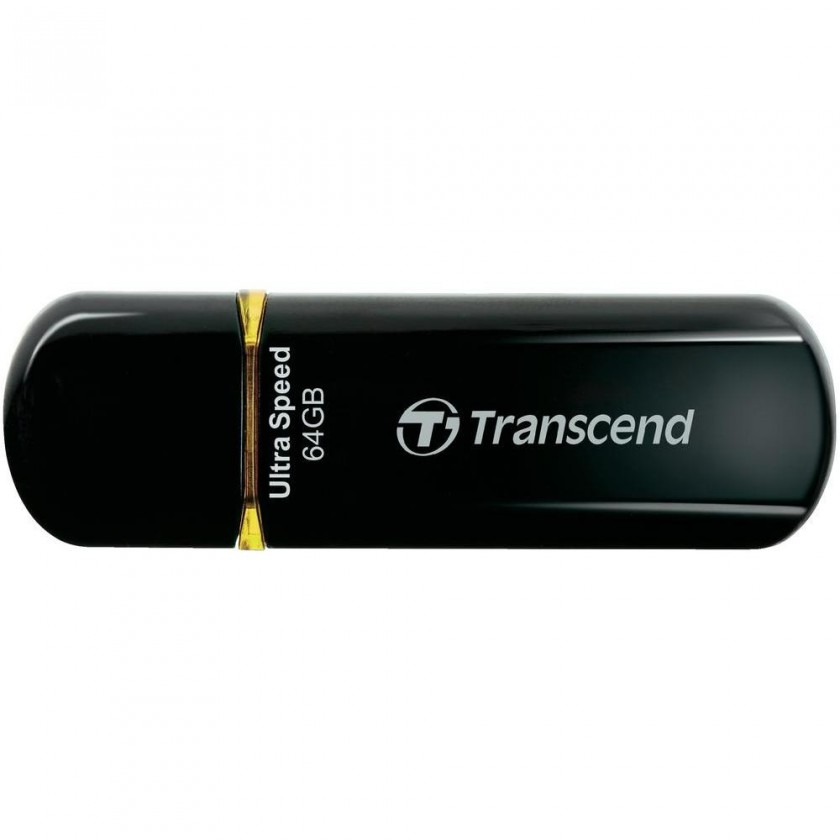 USB 2.0 flash disky Transcend JetFlash 600 64GB černý