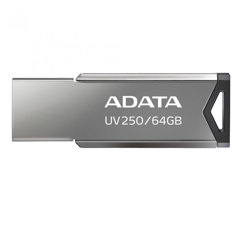USB 2.0 flash disky USB flash disk 64GB Adata UV250, 2.0 (AUV250-64G-RBK)