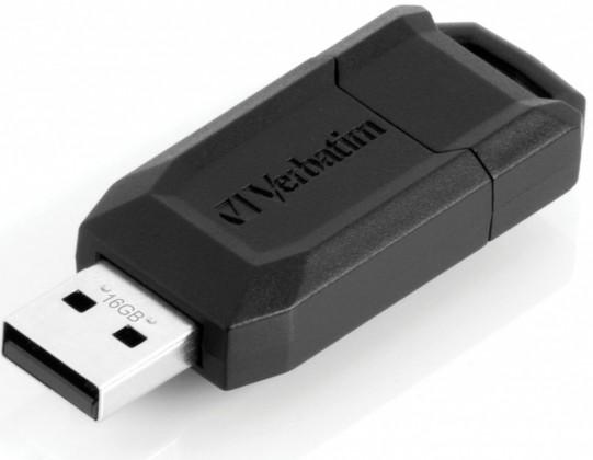 USB 2.0 flash disky Verbatim Secure 'n' Go Secure Data 16GB černý