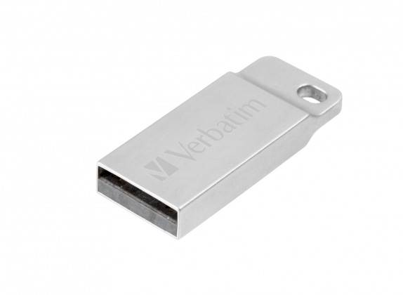 USB 2.0 flash disky VERBATIM Store 'n' Go Metal Executive 32GB USB 2.0 stříbrná