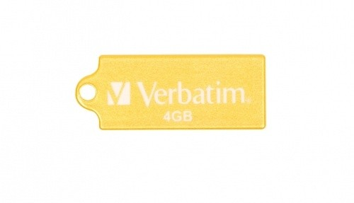 USB 2.0 flash disky Verbatim Store 'n' Go Micro 4GB žlutý