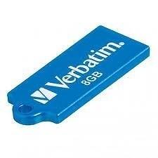 USB 2.0 flash disky Verbatim Store 'n' Go Micro 8GB modrý
