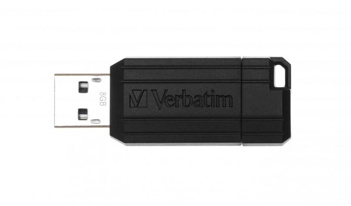 USB 2.0 flash disky Verbatim Store 'n' Go PinStripe 8GB černý