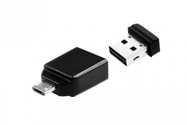 USB 2.0 flash disky Verbatim Store 'n' Stay Nano 8GB černý