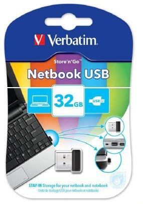 USB 2.0 flash disky Verbatim USB flash 32GB (43942)