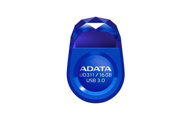 USB 3.0 flash disky A-DATA UD311 16GB, USB 3.0, modrý