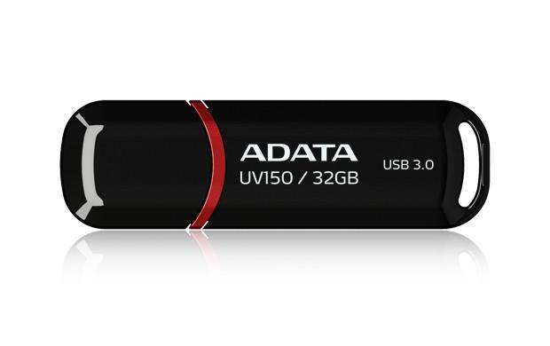 USB 3.0 flash disky ADATA UV150 32GB černý (AUV150-32G-RBK)