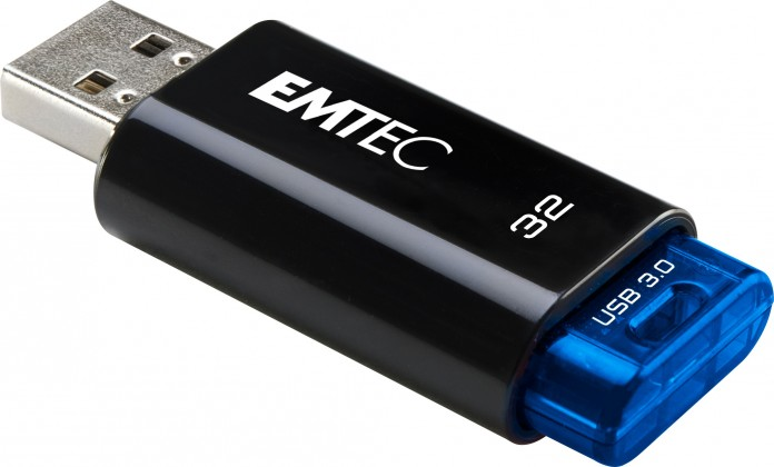 USB 3.0 flash disky Emtec C650 32GB černý-modrý