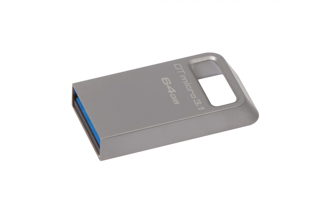 USB 3.0 flash disky Kingston DataTraveler Micro 3.1 64GB USB 3.0 (DTMC3/64GB) striebo
