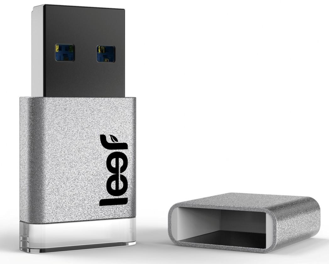 USB 3.0 flash disky Leef USB 16GB Magnet 3.0 silver