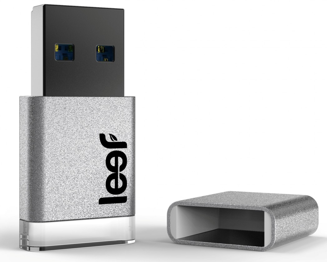 USB 3.0 flash disky Leef USB 64GB Magnet 3.0 silver