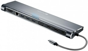 USB-C dokovací stanice 14v1 Canyon DS-9 (CNS-HDS09B)