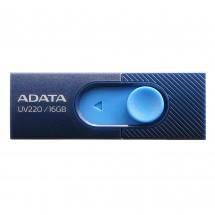 USB flash disk 16GB Adata UV220, 2.0 (AUV220-16G-RBLNV)