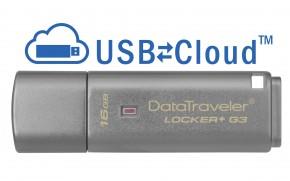 USB flash disk 16GB Kingston DT Locker+ G3, 3.0 (DTLPG3/16GB)