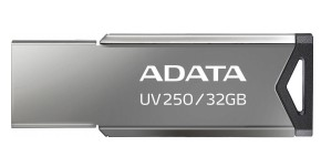 USB flash disk 32GB Adata UV250, 2.0 (AUV250-32G-RBK)