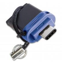 USB flash disk 32GB Verbatim Dual Driver, 3.0 (49966)