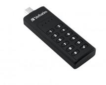 USB flash disk 32GB Verbatim Keypad Secure Drive, 3.1 (49430)