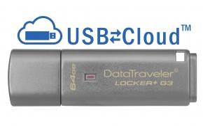 USB flash disk 64GB Kingston DT Locker+ G3, 3.0 (DTLPG3/64GB)