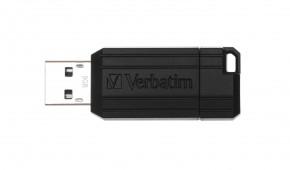 USB flash disk 8GB Verbatim PinStripe, 2.0 (49062)