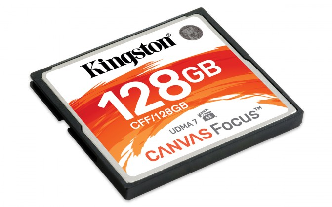 USB flash disky 128 GB 128GB CompactFlash Canvas Focus Kingston