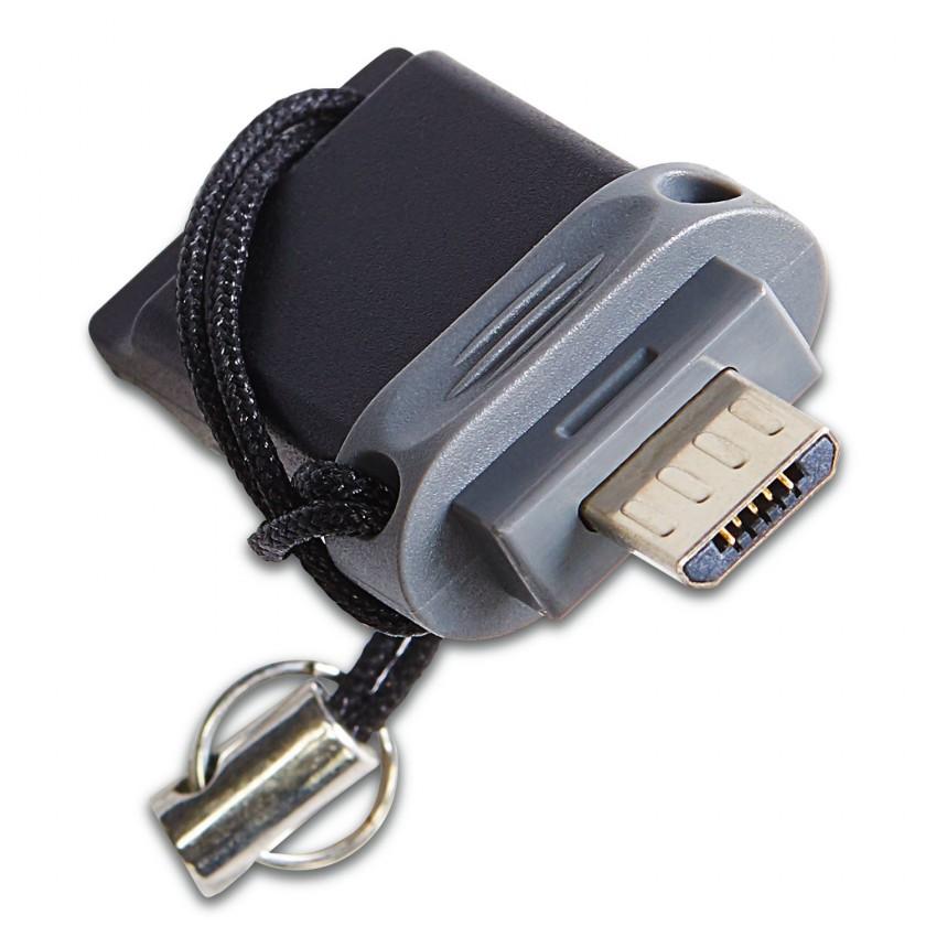 USB flash disky 16 GB VERBATIM Store 'n' Go Dual USB 16GB USB 2.0/microUSB