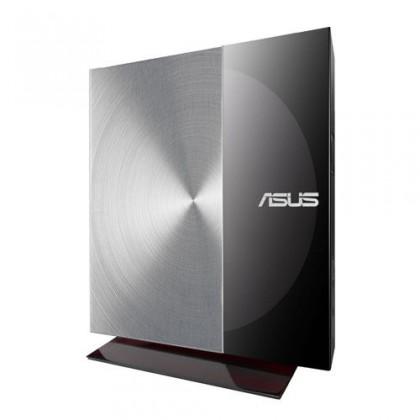 USB příslušenství Asus SDRW-08D3S-U černá/stříbrná, externí DVD vypalovačka, soft.