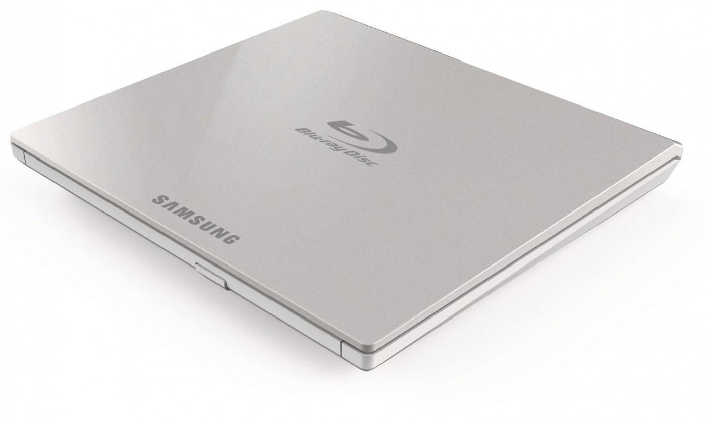 USB příslušenství Samsung Blu-ray Drive,  External, slim, USB 2.0, white