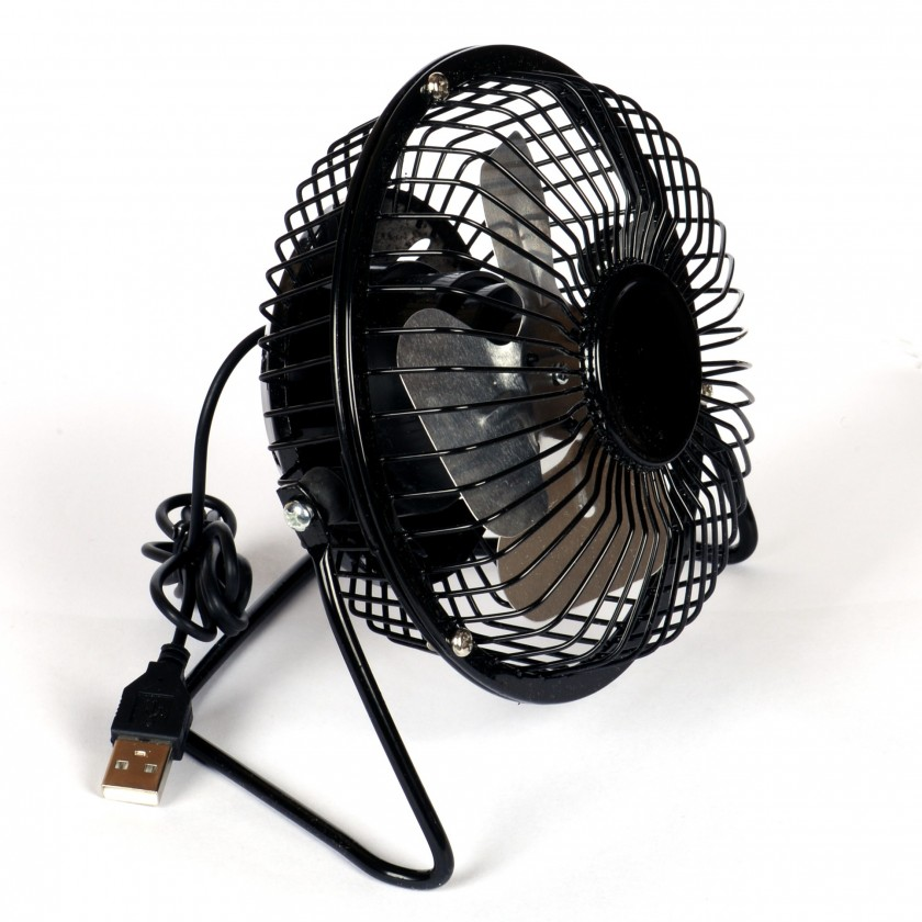USB příslušenství Winner group usb ventilator, black