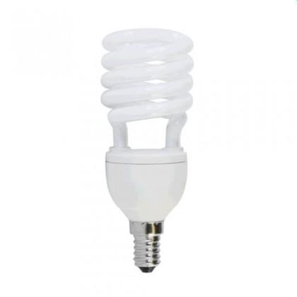 Úsporná žárovka HALF SPIRAL T2 E14 18W teplá bílá