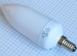 Úsporná žárovka OMICRON UAL E14/3W
